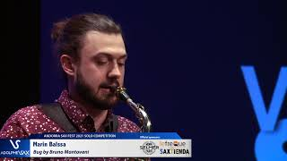 Marin Balssa plays Bug by Bruno Mantovani