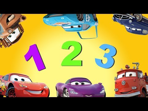 Learn Numbers And Counting W/ Disney Pixar CARS Kids Song + MARIO BONUS | Family Fun Learning