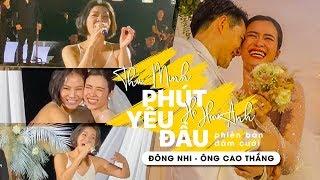 Thu Minh và ca khúc hát mừng hạnh phúc bất hủ tại đám cưới thế kỷ Đông Nhi - Ông Cao Thắng