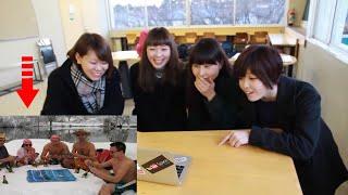 [日本語 ]ロシアはどんなに寒いのか? Шокируем японок русской зимой