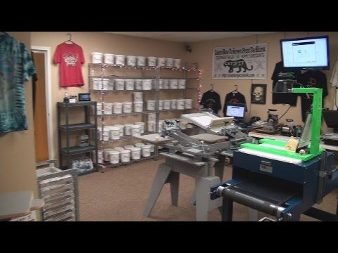 Screen printing equipment and supply store phoenix for T shirt screen printing phoenix