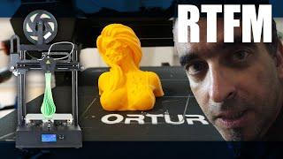 RTFM#74 - Σούπερ γρήγορος 3D εκτυπωτής Ortur4 V2 (αναβαθμισμένη έκδοση)