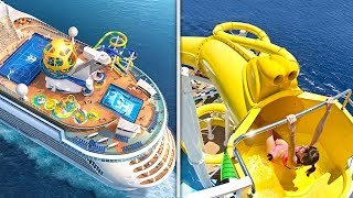 Top 10 Most LUXURIOUS Cruise Ships IN THE WORLD!