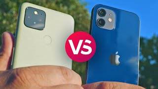 Apple iPhone 12 vs Google Pixel 5 camera comparison