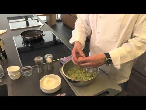 Messerschmidt Kochshow - Fisch im Pergamentpapier mit Zucchini-Kartoffelpuffer