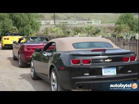 2012 Chevy Camaro Convertible: Video Road Test and Review