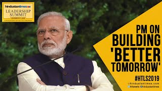 PM Modi speaks at #HTLS2019 on building a 'better tomorrow'