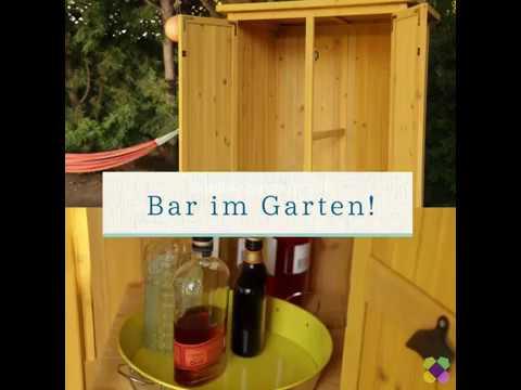 Gartenbar selber bauen || Garten-Ideen