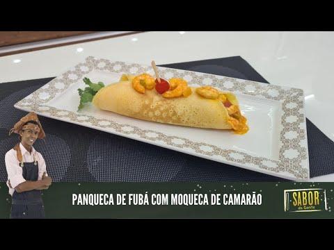 Panqueca de fubá com moqueca de camarão com o chef Rivandro [Sabor da Gente exibido em 14/04/2021]