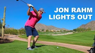 Golfing with Jon Rahm [#6 Ranked Golfer in the World!!!]