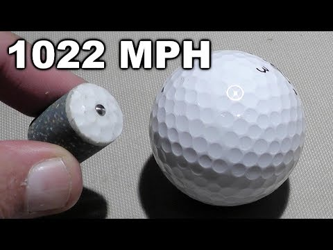 Golf Ball Bullets are Fabulous!
