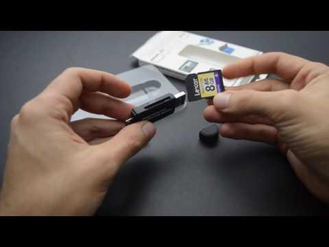 KiWiBiRD SG-008 adattatore lettore-scrittore SD/Micro SD per Smartphones/Tablets/PC