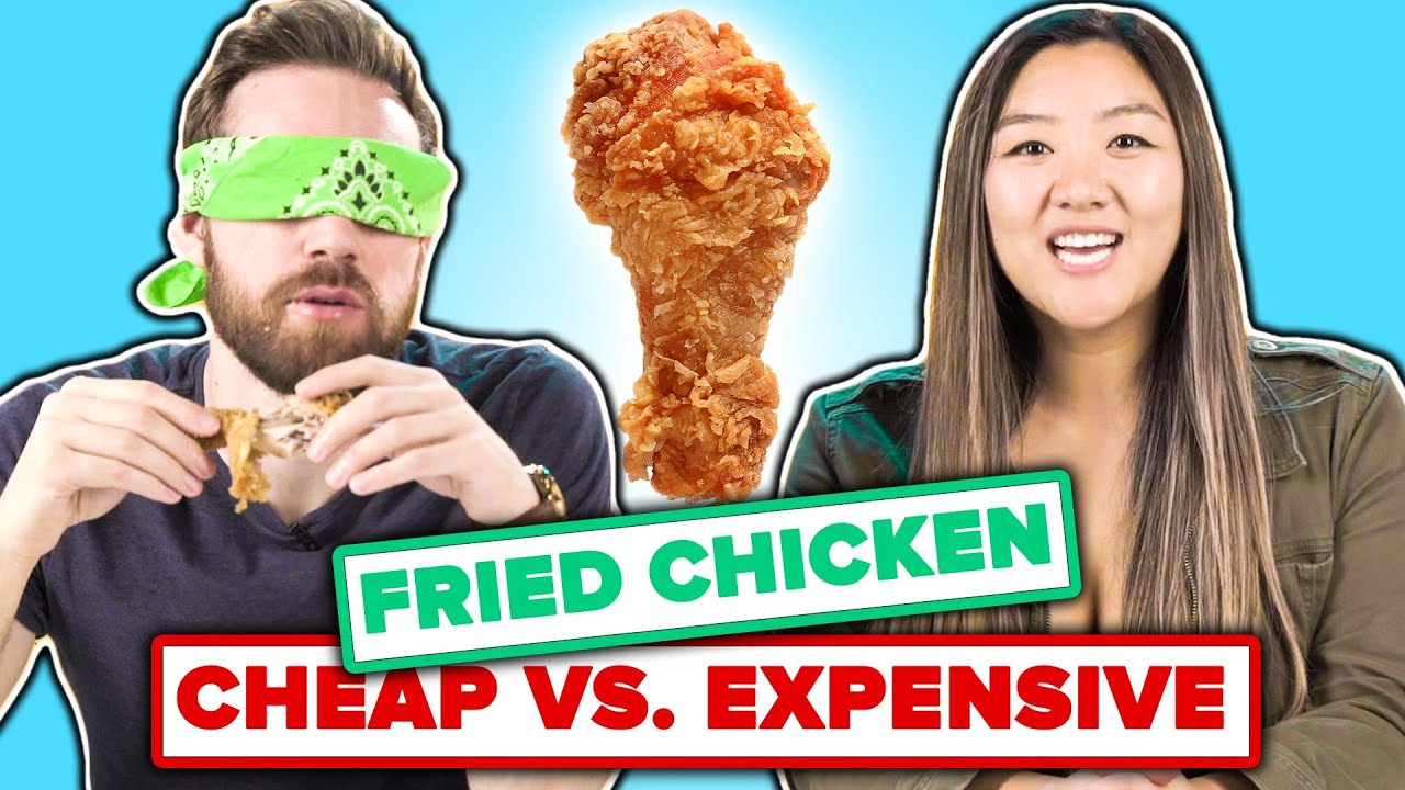 We Guess Cheap Vs. Expensive Fried Chicken thumbnail