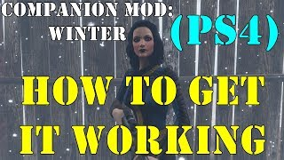 Fallout 4: How To Get My Winter Companion To Work (PS4)