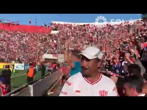 """""""🔴⚪ FESTEJOS de la hinchada TATENGUE - Unión 1 - 0 Colón (2019)"""" Barra: La Barra de la Bomba • Club: Unión de Santa Fe"""