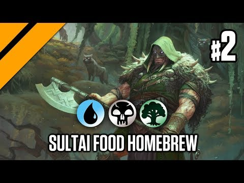 Bo3 Constructed - Sultai Food Homebrew P2
