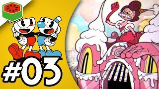 NEVER GIVE UP, NEVER SURRENDER! | Cuphead Expert Co-op Let's Play #3