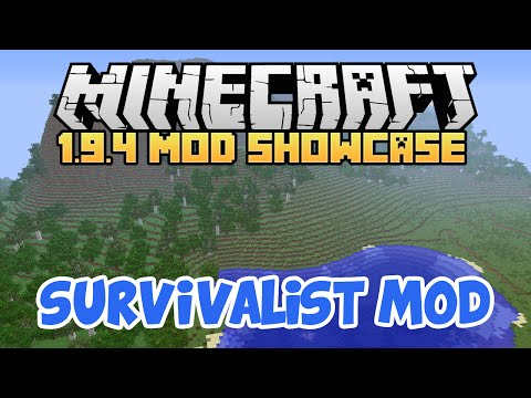 Minecraft Mod Spotlight - Survivalist 1.9.4