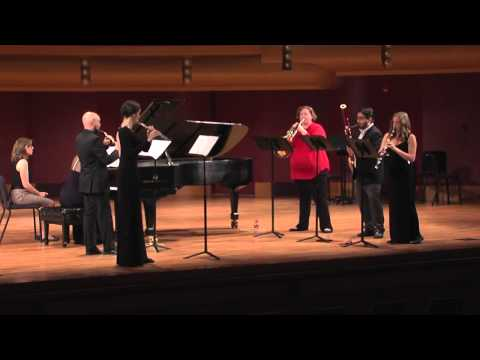 Live performance of the Cardinal Winds from the 2015 Fischoff National  Chamber Music
