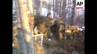 Bosnia - Bosnian Serbs Majevica Counter-Attack