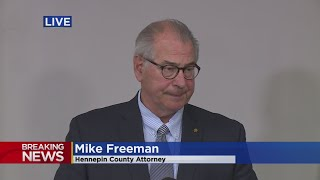 """This is by far the fastest that we've ever charged a police officer,"" Mike Freeman said (7:39). WCCO 4 News - May 29, 2020"