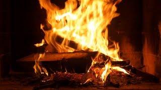 ASMR - FEU DE CHEMINEE HD kaminfeuer kamin Походный костер fireplace Треск AMBIANCE