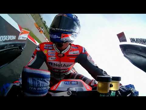Ducati talk about the Catalan GP