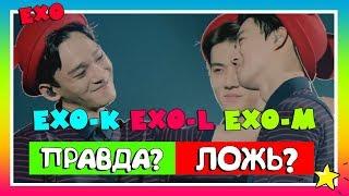 10 фактов об EXO! ПРАВДА или ЛОЖЬ?   K-pop Ari Rang