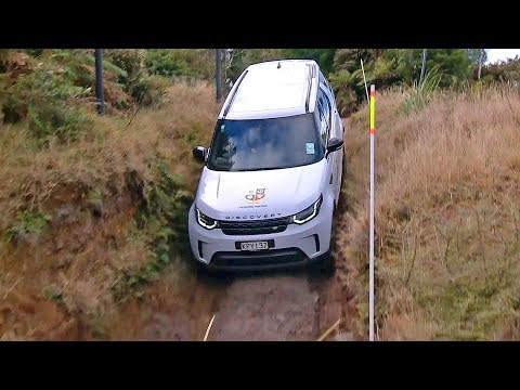 Land Rover Discovery (2018) Off-Road Test [YOUCAR]