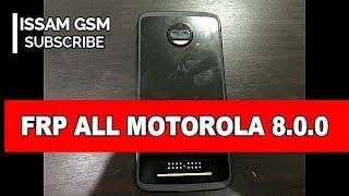 Motorola moto z2 force Remove frp OREO 8 0 0, x4 ,Z ,Z Play