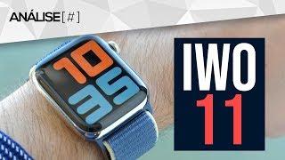 Smartwatch IWO 11 Análise / Review - UM APPLE WATCH BARATO? - Vale a pena? - IWO 11