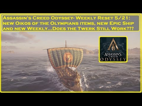 Assassin's Creed Odyssey - Weekly Reset 5/21