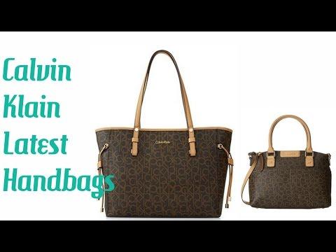 Calvin Klain Latest Handbags  Collection 2017