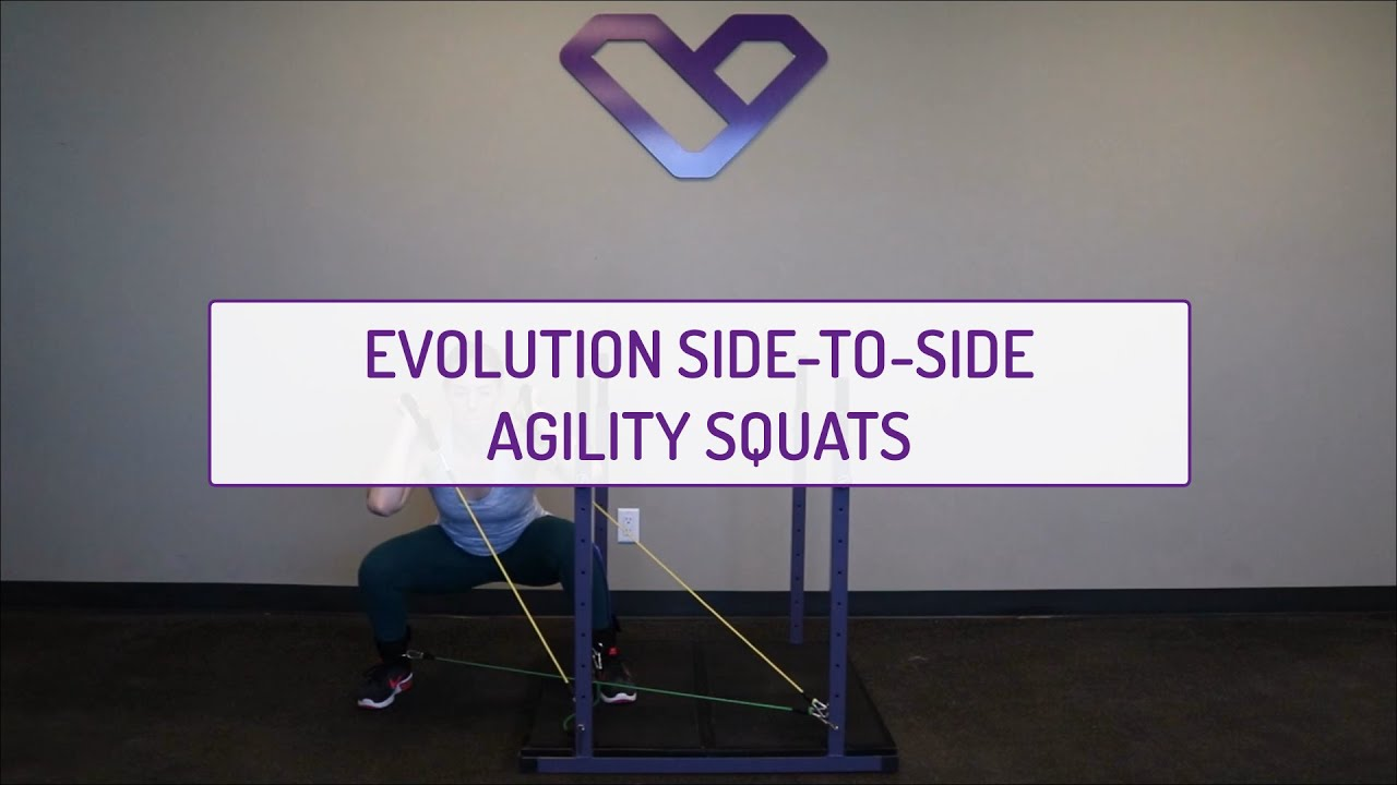 Evolution Side-to-Side Agility Squats