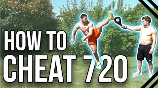 How to Cheat 720 Kick | Martial Arts & Tricking Tutorial