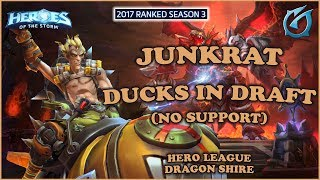 Grubby | Heroes of the Storm - Junkrat - Ducks in Draft - HL 2017 S3 - Dragon Shire