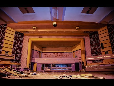 Inside Abandoned Cinema with Historical Past - Urbex Lost Places UK