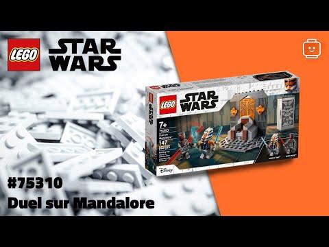 Vidéo LEGO Star Wars 75310 : Duel sur Mandalore