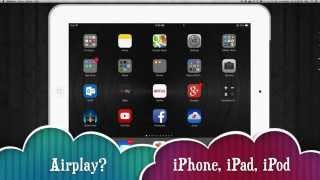 Can't find airplay icon on my iPhone iPad iPod MacBook