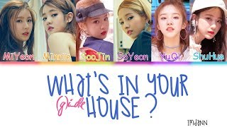(G)I-DLE - What's In Your House? |Sub. Español + Color Coded| (HAN/ROM/ESP)