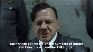 Hitler plans to phone cats