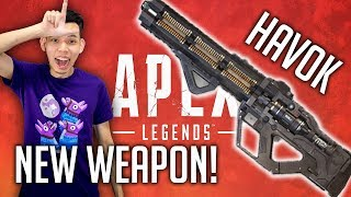 Apex Legends NEW WEAPON! HAVOK [BloodHound Main] 400++ kills