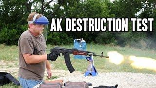 Burning AK Test Part 1