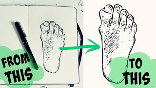 How To Clean Up Scanned Line-Art · With Free Software (No Photoshop) · SemiSkimmedMin