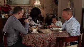 Coronation Street - Jude and Angie Chide Sean for Exposing George to Fruit