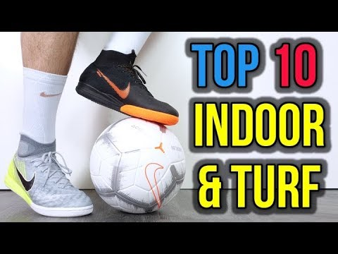 TOP 10 INDOOR & TURF FOOTBALL SHOES 2018