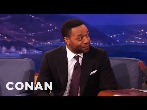 , title : 'Chiwetel Ejiofor: Michael Fassbender Is A Paintball Fiend  - CONAN on TBS'