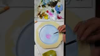 玫瑰花part 1 Decorative Painting Rose -Serina Art 彥蓁彩繪藝術-花鳥福利
