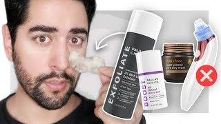 Best Blackhead Removal Skincare Products - How To Remove Blackheads FOR GOOD! ✖  James Welsh
