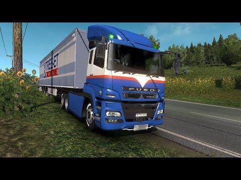 Mitsubishi Fuso Super Great v1 320 - Euro Truck Simulator 2 Mod